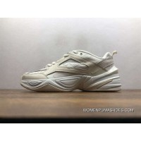 New Edition This Nike Air Monarch The M2K Tekno Retro Dad Sneakers Clunky Sneaker Dad Shoes Beige White Ao3108-006 Outlet