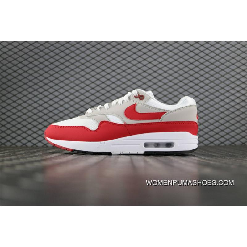 Nike Air Max 1 30th Anniversary Air Max 87 Men Red White 908375 103 Super Deals
