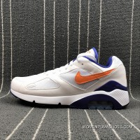 Nike Air Max 180 Retro Zoom Casual Running Shoes 615287-101 Size Top Deals
