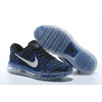 Authentic Nike Air Max 2017 Print Blue Black Copuon Code 5zRmp