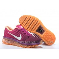 Authentic Nike Air Max 2017 Peach Purple Orange For Sale DpQmfz