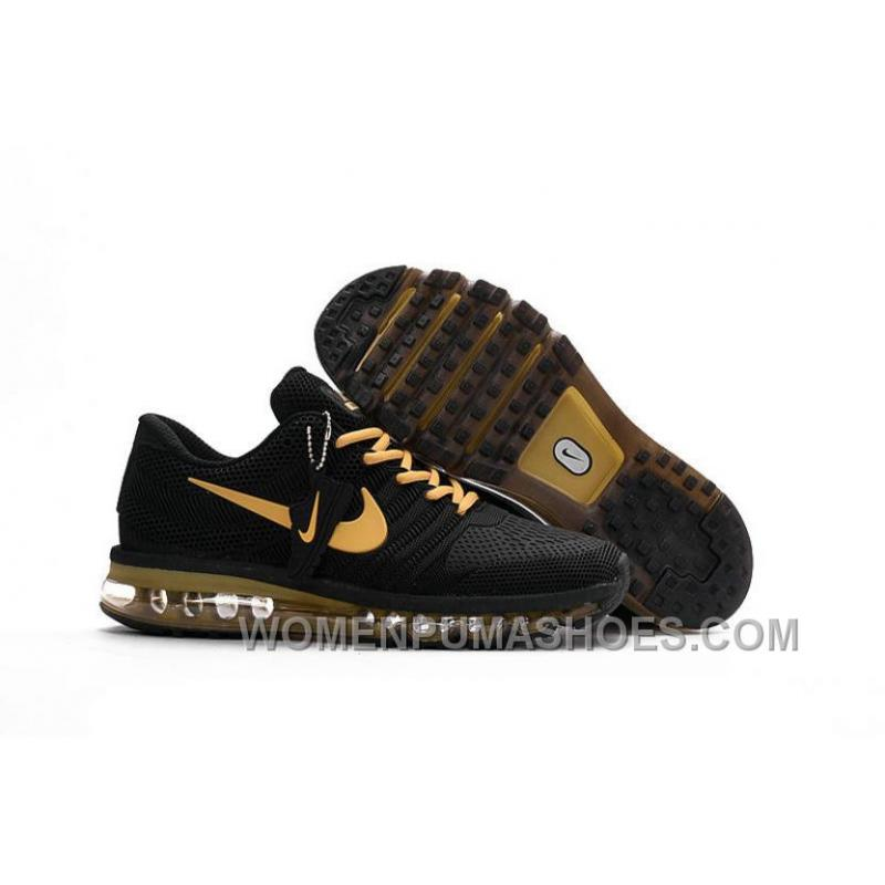 Authentic Nike Air Max 2017 KPU Black Gold Top Deals DbpSK