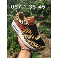 Nike Air Max 87 Leopard Yellow Men Women Outlet