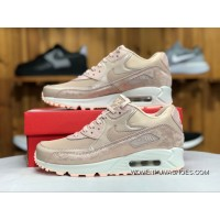 Nike Air Max 90 Cherry Blossom Sakura Pink Women Zoom Sport Casual Shoes 896497-201 Size Free Shipping