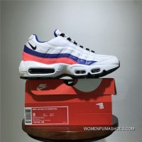 Shoes Last Men Shoes Nike Air Max 95 TT Retro Zoom All-match Jogging Shoes Series OG White Blue Pink 749766-106 Size New Year Deals
