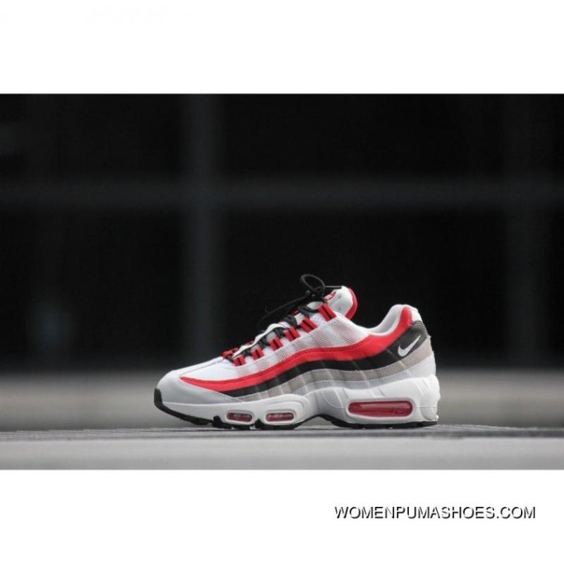 another chance b3c59 6bc92 nike air max 95 essential red NIKE Air Max 95 Essential 749766-601 High  Quality