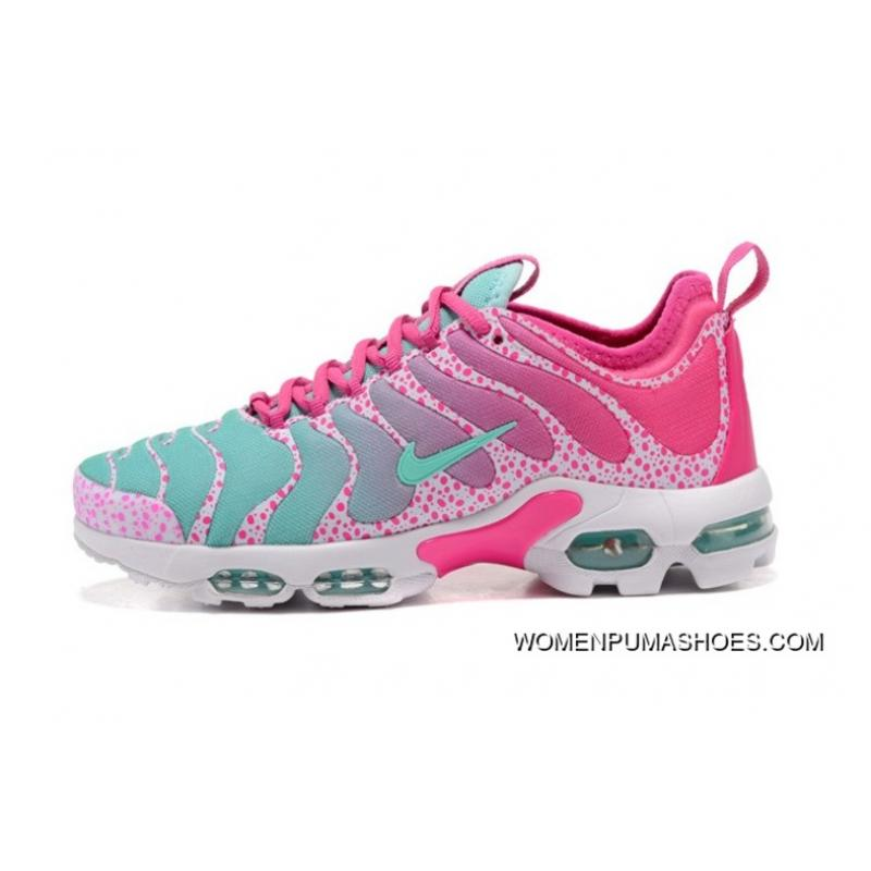 best loved cf84a f3936 ... Womens Nike Air Max Tn Plus Ultra Shoes Pink Blue White 881560-438 ...