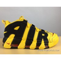 Nike Air More Uptempo Bruce Lee Black And Yellow Super Deals