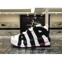 Nike Authentic Air More Uptempo96 Big Air Pippen Basketball Shoes 414962-105 Size New Style
