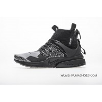 0191f6c16d Mid Black Grey Nike Acronym Collaboration Acronym X Air Presto Mid White  Green Ah7832-100