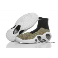 NIKELAB Air Zoom Flight 95 Flyknit Colorful White Black Copuon