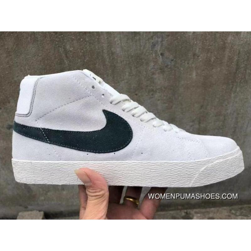 size 40 0b344 b99d2 Nike SB Zoom Blazer Mid M Grey Green High Best