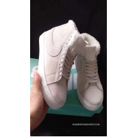 Nike SB Zoom Blazer Mid Beige White High And Wool Free Shipping