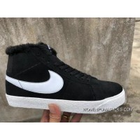 Nike SB Zoom Blazer Mid Black White High And Wool New Year Deals