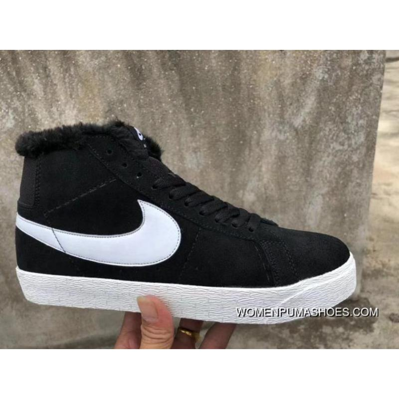 best sneakers b233f 87916 Nike SB Zoom Blazer Mid Black White High And Wool New Year Deals