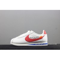 OFF-WHITE X Nike Classic Cortez Collaboration Casual Sport Shoes 807471-103 Top Deals