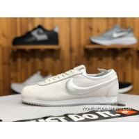 Nike Cortez Full Grain Leather Napa Leather Embroidery Cortez 72 Si Classic Retro Running Shoes 881205 100 Fashion Sport Casual Best