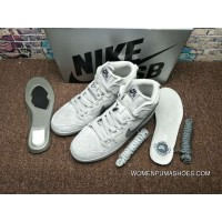 Grey White Theme Collaboration Defending Champion Nike Dunk Sb X Reigning Champ Collaboration 9 Discount