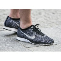 NIKE FLYKNIT RACER OREO 2.0 AGAIN 526628-012 2016 Black Friday Huge Sale Authentic Guaranteed Copuon