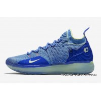 Nike KD 11 EP Warriors Blue Yellow New Release
