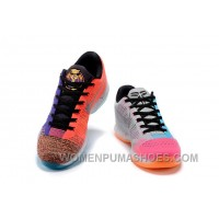 """2017 Nike Kobe 10 Elite Low Multi-Color """"What The"""" Mens Basketball Shoes New Release Tad7hp"""