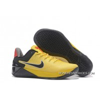 2017 Bruce Lee Nike Kobe 12 A.D. Yellow Black Outlet