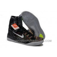Buy Cheap Nike Kobe 9 2014 High Top Master Black White Mens Shoes Authentic IQ6Q7md