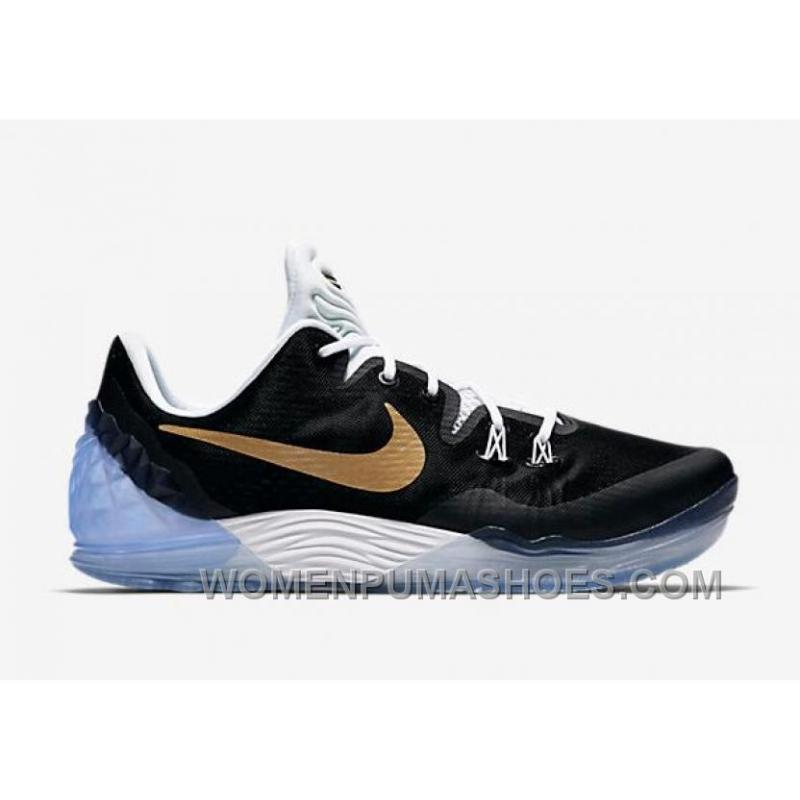 best choice best cheap exquisite design Nike Kobe Venomenon 5 EP Bryant Black Gold 2016 For Sale Free ...