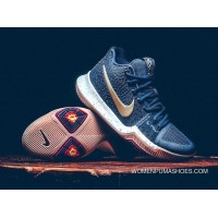 Nike Kyrie 3 'Obsidian' Obsidian And Metallic Gold-Summit White Best