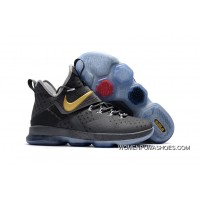 Nike Lebron 14 Wolf Grey/Gold Latest
