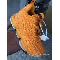 15 Basketball Shoes Kids Shoes Series 28-35 Nike Lebron 15 Kids Yellow Online