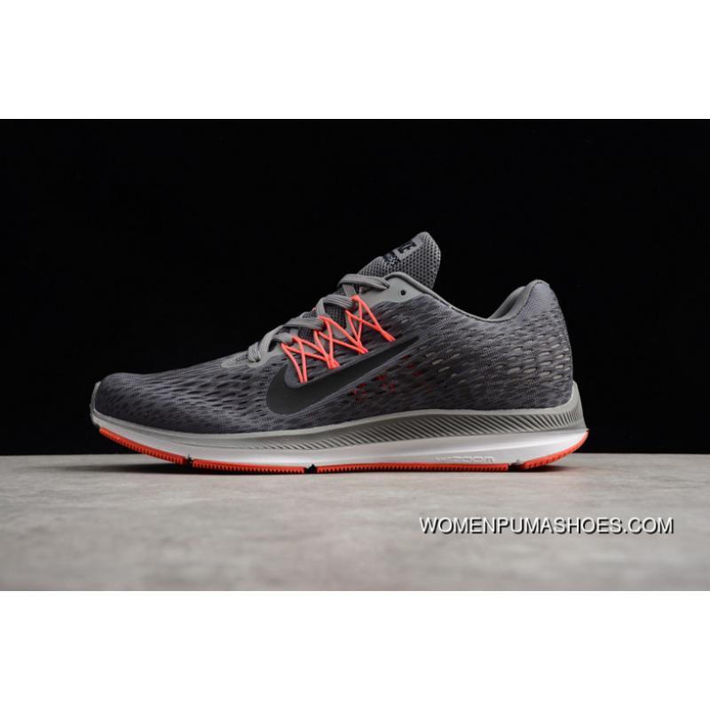 AA7406-006 Nike LUNAREPIC V5 Zoom WINFLO 5 Air Max Zoom Mesh Breathable  Running Shoes New Style
