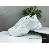 Nike Dad Sneakers Clunky Sneaker Dad Shoes AV4789 101 Air Monarch The M2K Tekno White New Style
