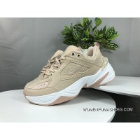 Nike Dad Sneakers Clunky Sneaker Dad Shoes AO3108 202 Air Monarch The M2K Tekno Pink White Copuon