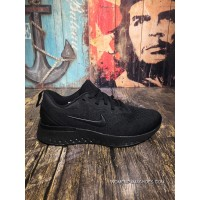 Nike Odyssey React 2.0 React 2.0 Jacquard Mesh Super Light Breathable Cushioning Running Shoes AO9819-005 All Black New Style