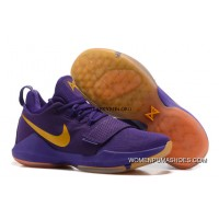Nike Zoom Pg 1 Shoes Nike Zoom Pg 1 Lakers Purple Basketball Shoes Outlet