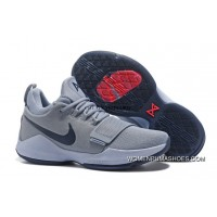 Nike Zoom Pg 1 Shoes Nike Zoom Pg 1 Grey Blue Basketball Shoes Latest
