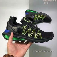 150 Nike Shox Gravity Aaron Greg Thomp 05XHFQ13 Women/men Black Green Copuon