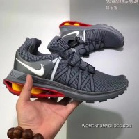 150 Nike Shox Gravity Aaron Greg Thomp 05XHFQ13 Women/men Charcoal Grey For Sale