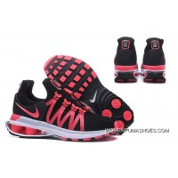 NIKE SHOX 908 Women Black Pink Latest