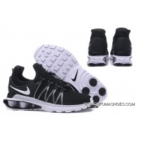 NIKE SHOX 908 Men Black White Swoosh 2018 New For Sale