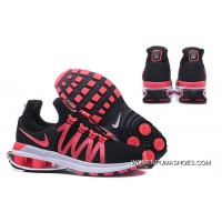 NIKE SHOX 908 Women Navy Blue Peach Red Discount