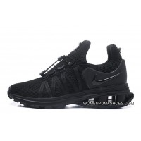 NIKE SHOX 908 All Black Men New Release