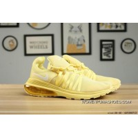 130 NIKE SHOX GRAVITY All Yellow New Release