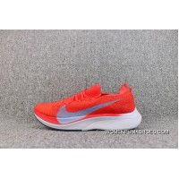 Nike Vaporfly 4 Flyknit Marathon Big Hook Cushioning Knit Sport Professional Running Shoes Women Shoes And Men Shoes AJ3857-600 New Release
