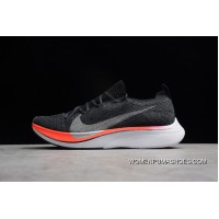 P22 The Highest Technology Nike Vaporfly 4 Flyknit Marathon Big Hook Cushioning Knit Sport Professional Running Shoes Black And Red AJ3857-400 Men Shoes Latest