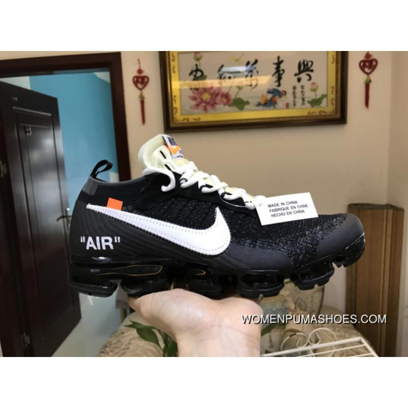 info for 9a3b4 84195 USD  87.72  271.93. Men Off White X Nike Air Vapormax 2018 Flyknit Running  Shoes ...