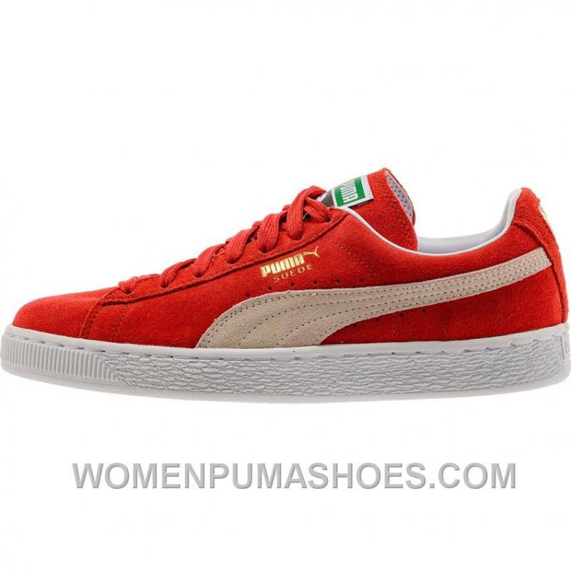 PUMA SUEDE CLASSIC MEN S - HIGH RISK RED WHITE Christmas Deals MGZia ... 5dde4a8ea6