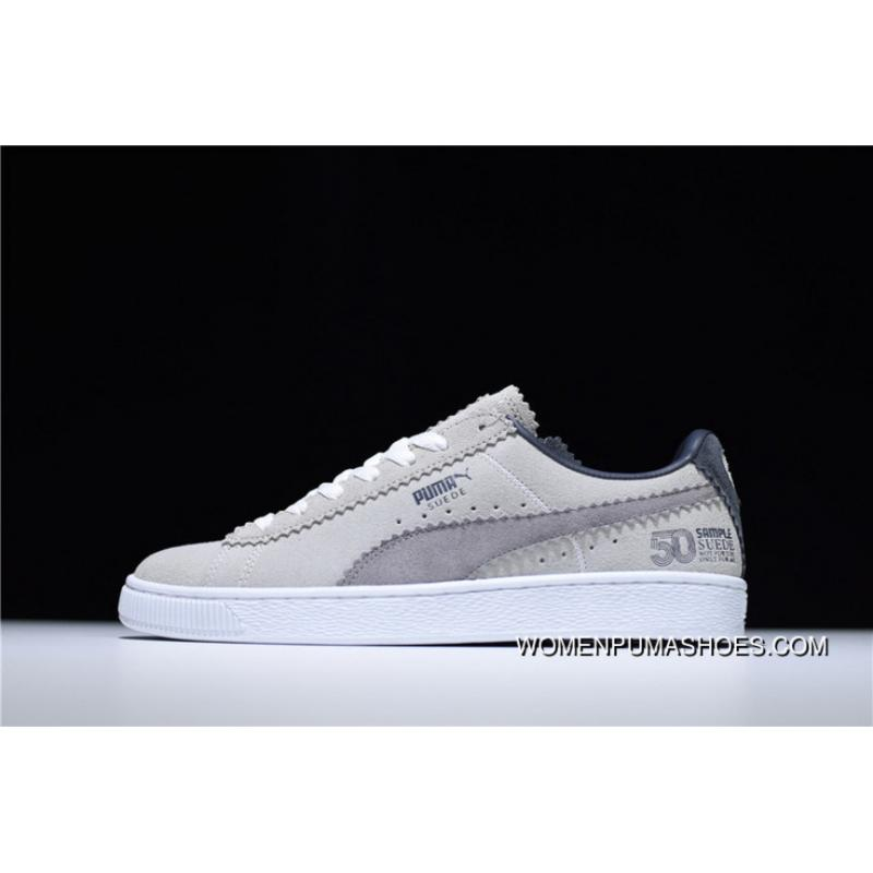 factory price 100de 06dd2 Icm62208 World-class Artist Michael Lau X PUMA Sample Suede Classic Star  All-match Sneakers Around Sample Cement Grey 366313-01 Free Shipping