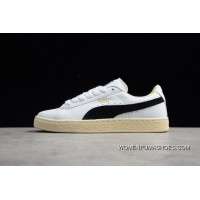 0902421fcd0 R18 Puma 1 White And Black Beige White Outsole 351912-03 Women Shoes And Men